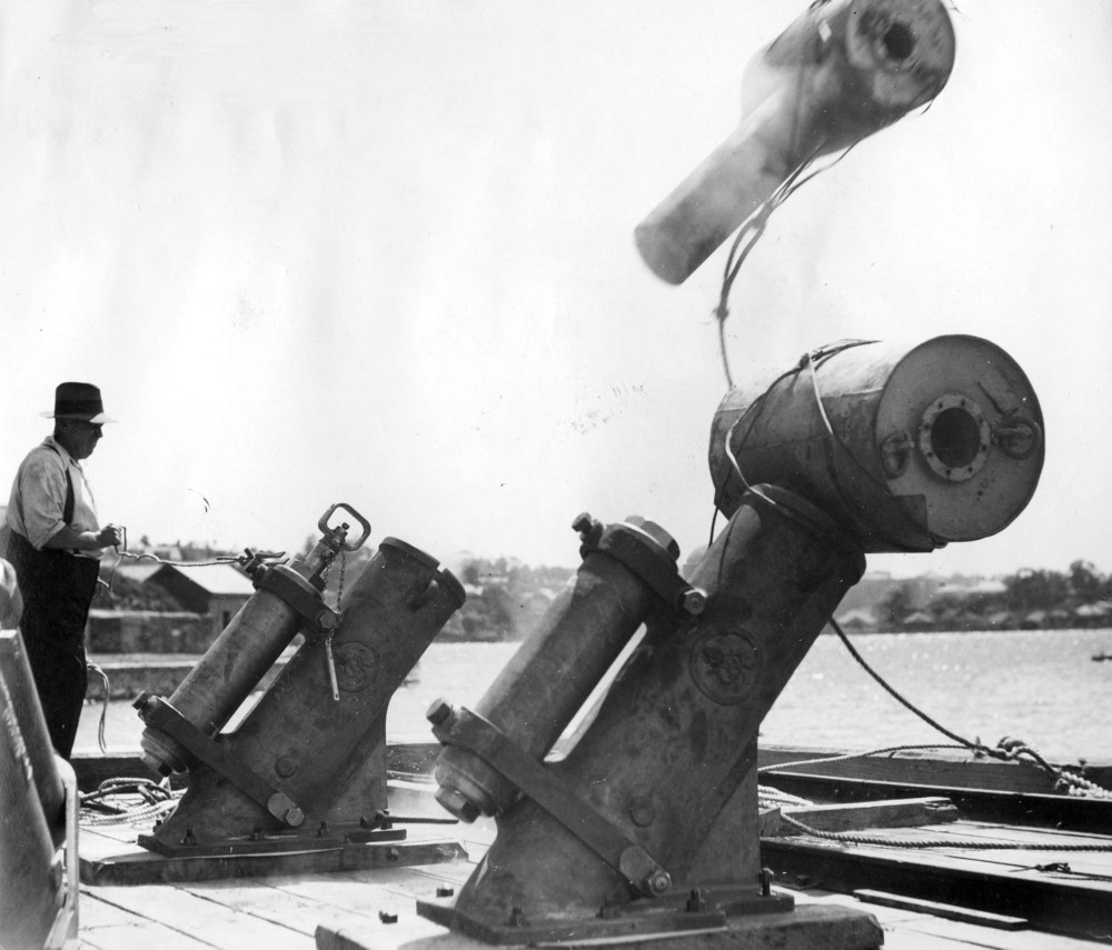 Image result for ww2 german depth charge