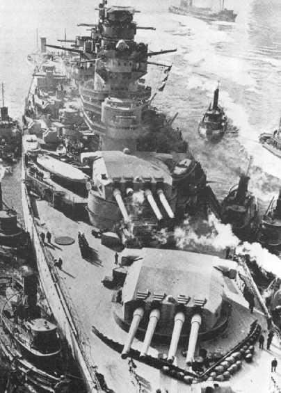 Barcos de la Segunda Guerra Mundial