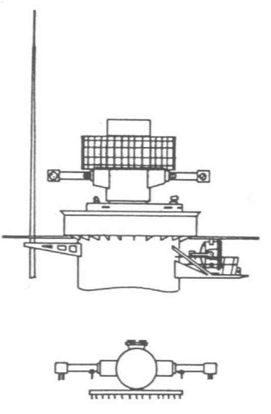 Fräsdorn Anzugschraube M24 für D50