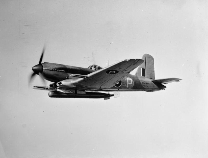 Prototype Blackburn Firebrand
